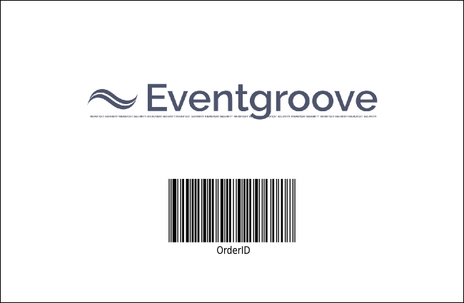 California Drink Ticket (Gray and Blue)