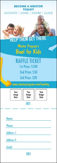 Mentoring Raffle Ticket Product Front