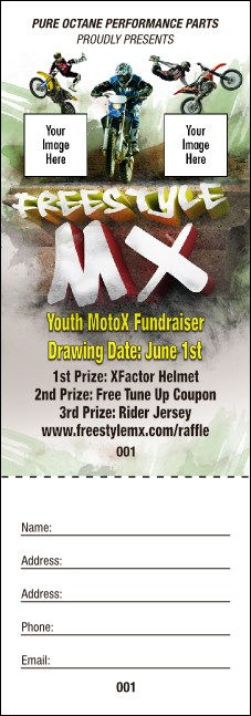 Freestyle MX Raffle Ticket Product Front