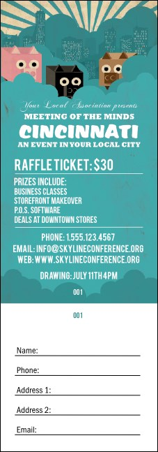 Cincinnati Raffle Ticket