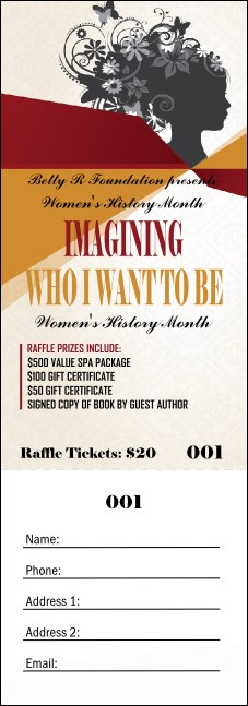 Women's Expo 3 Raffle Ticket