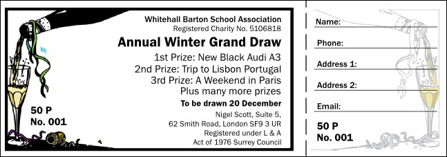 Celebration Raffle Ticket 001
