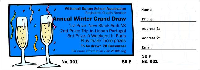 Celebration Raffle Ticket 002