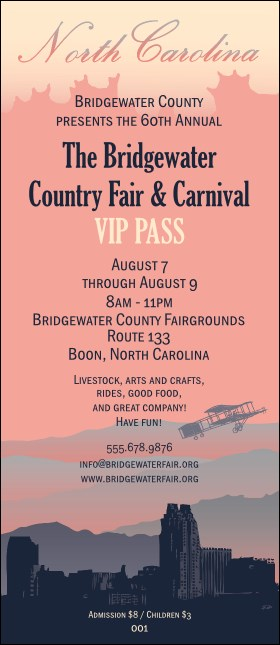 North Carolina VIP Pass