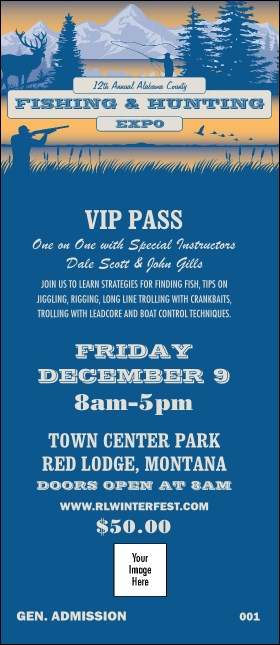 Fishing and Hunting Expo VIP Pass Product Front