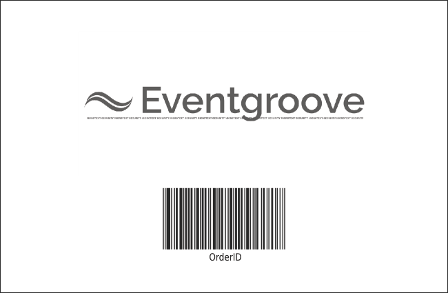 Black Tie Gala Drink Ticket Product Back