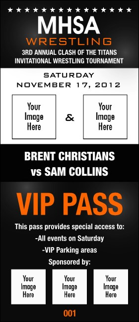 Versus Black VIP Pass Product Front
