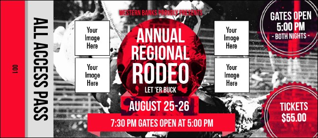 Modern Rodeo VIP Pass Product Front