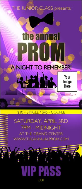 Prom Limo VIP Pass