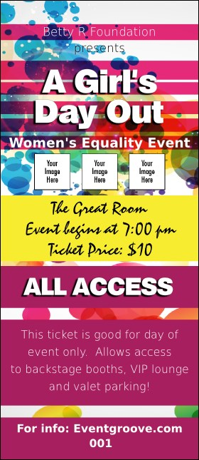 Women's Expo Abstract VIP Pass