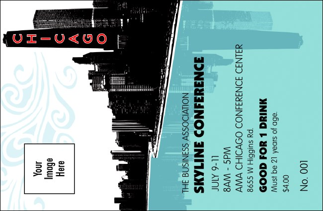 Chicago Drink Ticket