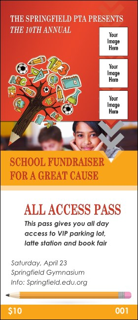 Fundraiser for Education VIP Pass