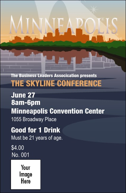 Minneapolis Drink Ticket Product Front