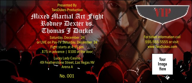 VIP Ticket Mixed Martial Arts