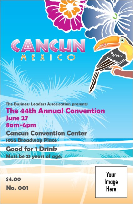 Cancun Drink Ticket