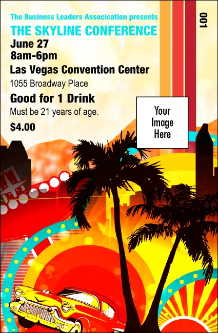 Nevada Drink Ticket