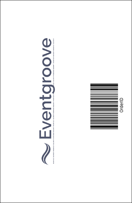 Recycling Symbol Drink Ticket Product Back