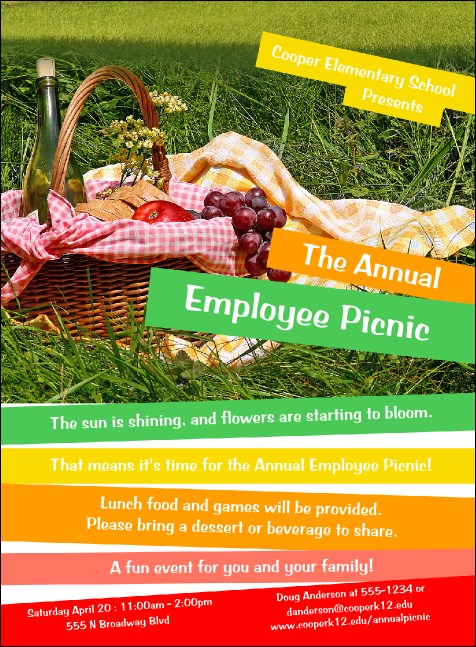 Picnic 2 Invitation
