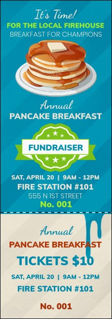 Pancake Stack Event Ticket