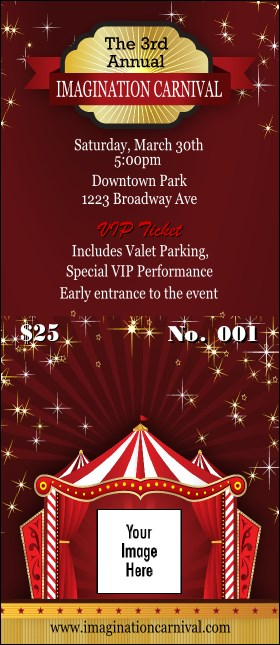 Red Tent VIP Pass Product Front