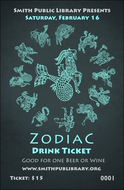 Zodiac Drink Ticket