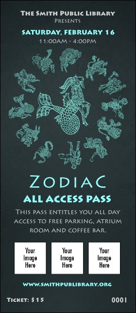 Zodiac VIP Pass Product Front