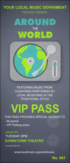 World Music VIP Pass