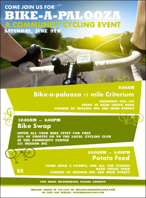 Bike A Palooza Flyer