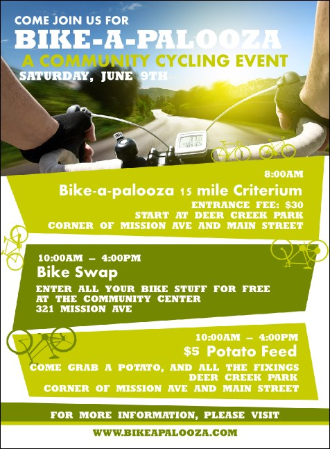 Bike A Palooza Invitation