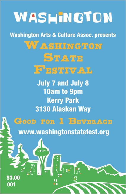 Washington Drink Ticket