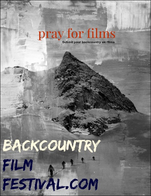Backcountry Film Submissions Flyer - 2014
