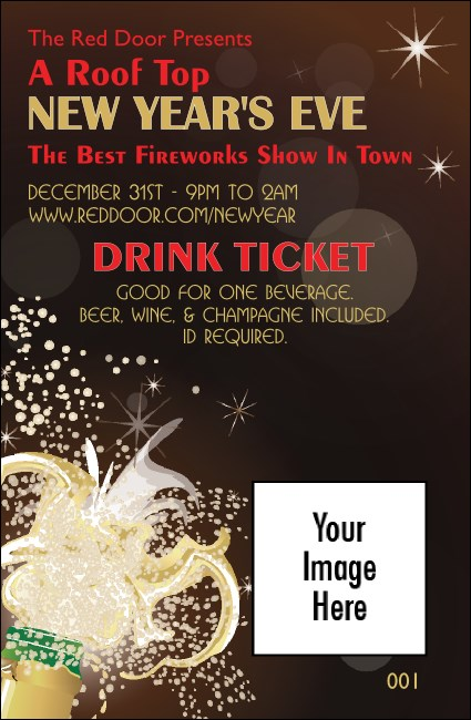 Champagne Bistro Drink Ticket