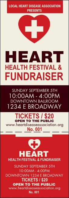 Heart Health Event Ticket
