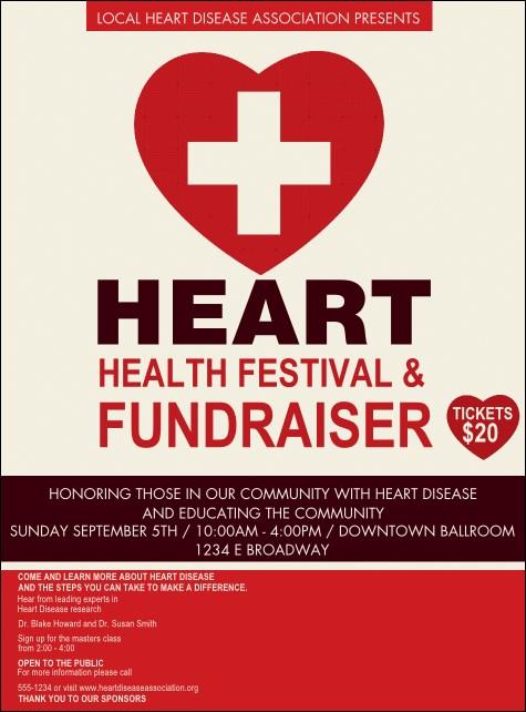 heart health flyer