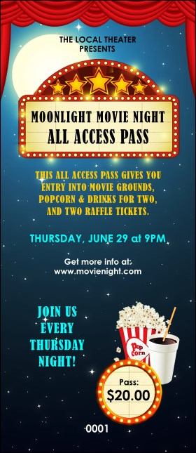 Movie Night VIP Pass