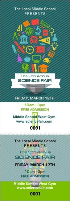 Science Fair Event Ticket