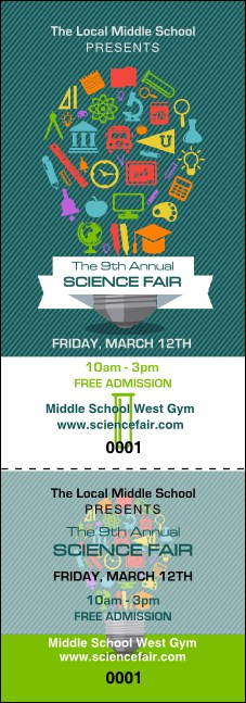 Science Fair Event Ticket