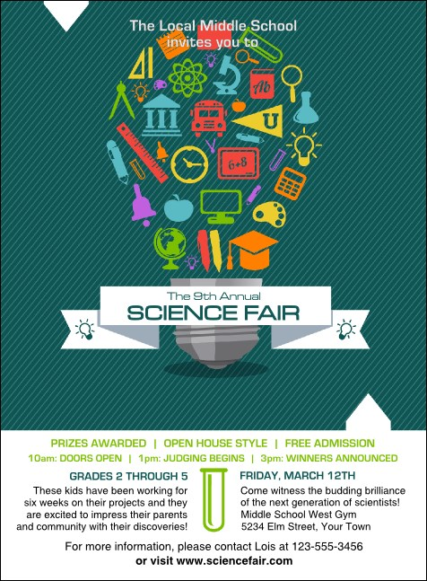 Science Fair Invitation