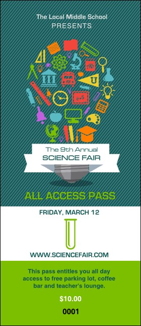 Science Fair VIP Pass