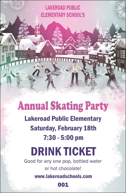 Skating Party Drink Ticket