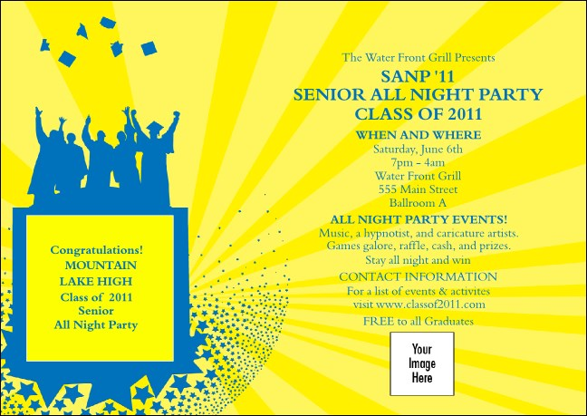 Bright Ideas Graduation Club Flyer