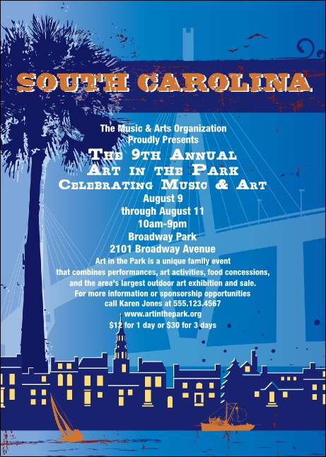South Carolina Club Flyer