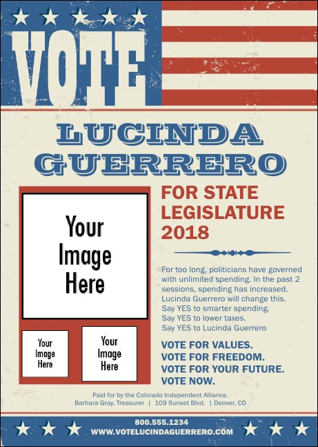 Americana Vote Club Flyer