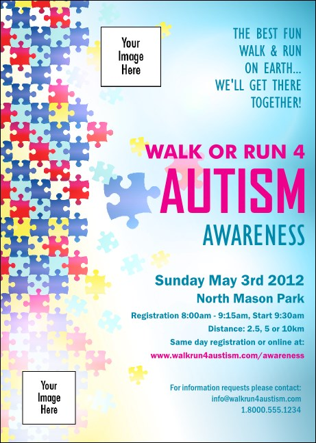 Autism Awareness Club Flyer