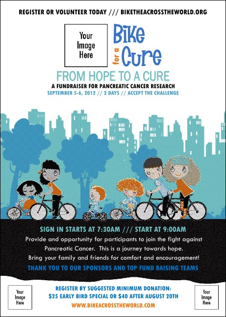 Bike for a Cause Club Flyer