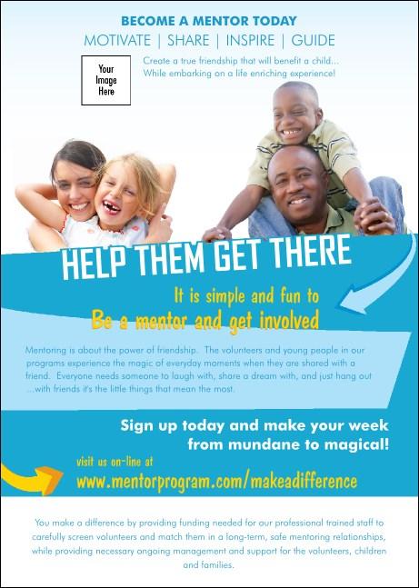 mentoring club flyer