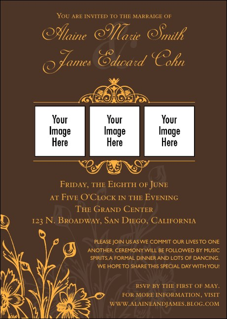 Wedding Classic Club Flyer