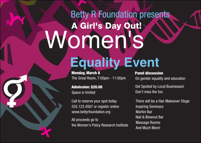Equality Club Flyer