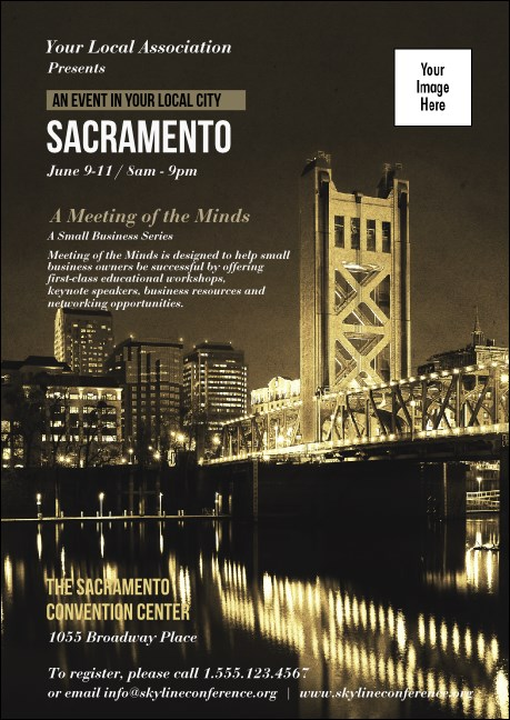 Sacramento Club Flyer