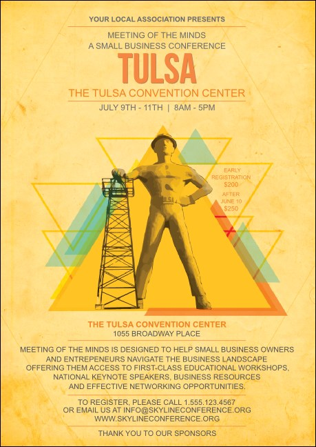 Tulsa Club Flyer